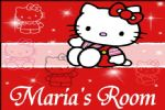 Personalised Hello Kitty Door Plaque Design 2